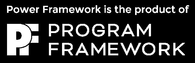 PowerFramework_ProgramFramework